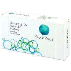 CooperVision Biomedics 55 Evolution (6 db lencse) kép