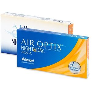 Alcon Air Optix Night and Day Aqua (6 db lencse) kép