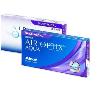 Alcon Air Optix Aqua Multifocal (3 db lencse) kép