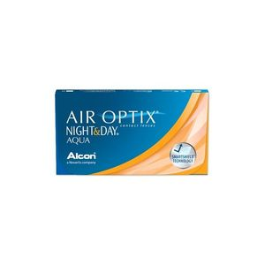 Air Optix Night & Day Aqua (3 db) havi kontaktlencse kép