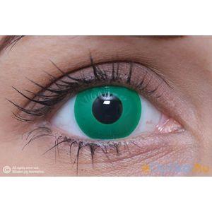 ColourVUE Crazy Smaragdzöld (2 db) fedő, 3 havi kontaktlencse kép