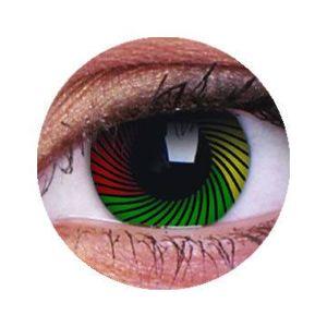 ColourVUE Crazy Rasta (2 db) fedő, 3 havi kontaktlencse kép