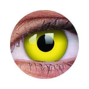ColourVUE Crazy Sárga (2 db) fedő, 3 havi kontaktlencse kép