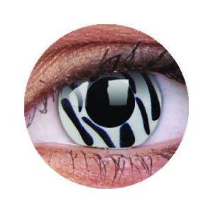 ColourVUE Crazy Zebra (2 db) fedő, 3 havi kontaktlencse kép