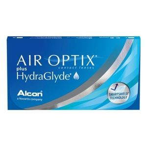 Air Optix Plus HydraGlyde (3 db) havi kontaktlencse kép