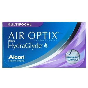 Air Optix plus HydraGlyde Multifocal (3 db) havi kontaktlencse kép