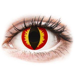 Maxvue Vision ColourVUE Crazy Lens Dragon Eyes - napi lencsék dioptria nélkül (2 db lencse) kép