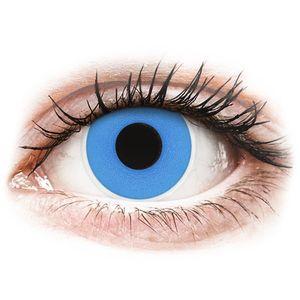 Maxvue Vision ColourVUE Crazy Lens Sky Blue - napi lencsék dioptria nélkül (2 db lencse) kép