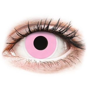 Maxvue Vision Barbie Pink ColourVUE Crazy Lens kontaktlencse - dioptria nélkül kép