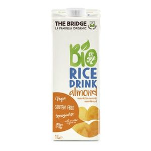 The Bridge bio rizsital, 1000 ml - mandulás kép