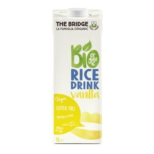 The Bridge bio rizsital, 1000 ml - vaníliás kép