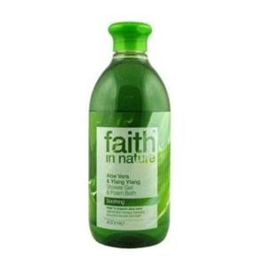 Faith in Nature Bio Aloe vera és ylang-ylang tusfürdő, 400 ml kép