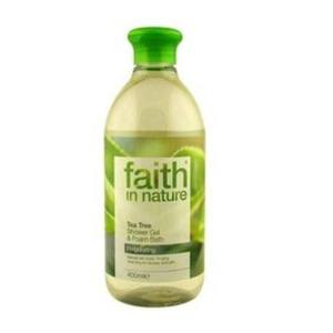 Faith in Nature Bio Teafa tusfürdő, 400 ml kép