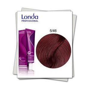 Permanens hajfesték - Londa Professional árnyalat 5/46 Réz-ibolya világos barna kép