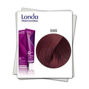 Permanens hajfesték - Londa Professional árnyalat 5/65 Ibolya vörös világosbarna kép