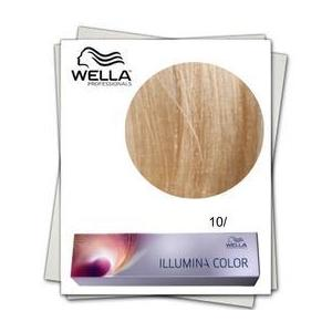 Permanens hajfesték - Wella Professionals Illumina Color árnyalat 10/ Gyöngy-ibolya Világos Fényszőke kép