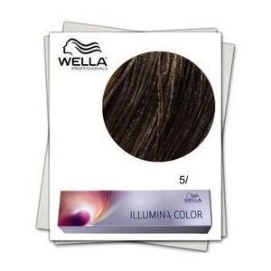 Permanens hajfesték - Wella Professionals Illumina Color árnyalat 5/ Világos barna kép
