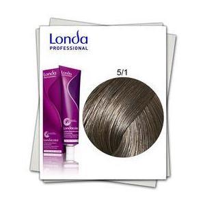 Permanens hajfesték - Londa Professional árnyalat 5/1 világos hamvas barna kép