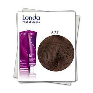 Permanens hajfesték - Londa Professional árnyalat 5/37 arany-barna világos barna kép