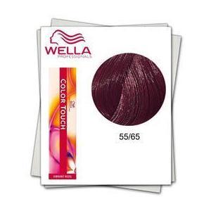 Ammóniamentes hajfesték - Wella Professionals Color Touch ánryalat 55/65 Mahagóni Lila Intenzív Világosbarna kép