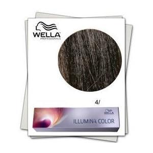 Permanens hajfesték - Wella Professionals Illumina Color árnyalat 4/ Középbarna kép