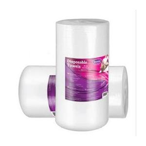 Egyszer használatos törölköző tekercs textil anyagból - Beautyfor Disposable Soft Spunlace Towels in Roll 35cm x 70cm, 100 db kép