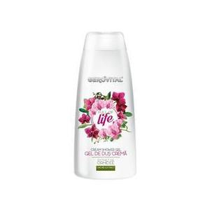 Gerovital Cream Shower Gel - Full of Life, 400ml kép