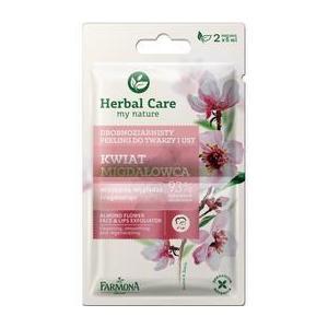Bőrradír Arcra és Ajakra Mandulavirággal- Farmona Herbal Care Almond Flower Face & Lips Exfoliator, 2 x 5ml kép