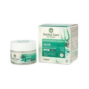 Hidratáló Nappali/Éjszakai Arckrém Aloeval - Farmona Herbal Care Aloe Moisturizing Cream Day/Night, 50ml kép