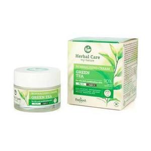 Normalizáló Nappali/Éjszakai Krém Zöld Teával - Farmona Herbal Care Green Tea Normalising Cream Day/Night, 50ml kép