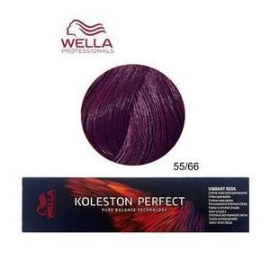 Permanens krém-hajfesték - Wella Professionals Koleston Perfect Vibrant Reds, árnyalat 55/66 Gesztenyebarna-Intenzív Lila kép