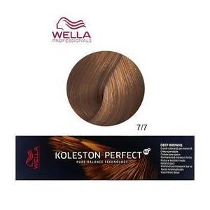 Permanens krém-hajfesték - Wella Professionals Koleston Perfect ME+ Deep Browns, árnyalat 7/7 Barna Középszőke kép