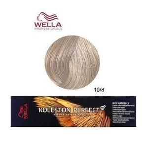 Permanens krém-hajfesték - Wella Professionals Koleston Perfect ME+ Rich Naturals, árnyalat 10/8 Legvilágosabb Gyöngyház Szőke kép