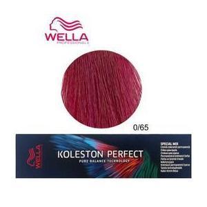 Permanens krém-hajfesték Mixton - Wella Professionals Koleston Perfect Special Mix, árnyalat 0/65 Mahagóni Lila/rózsaszín kép