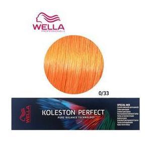 Permanens krém-hajfesték Mixton - Wella Professionals Koleston Perfect Special Mix, árnyalat 0/33 Intenzív Arany kép