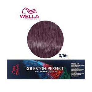 Permanens krém-hajfesték Mixton- Wella Professionals Koleston Perfect Special Mix, árnyalat 0/66 Intenzív Lila kép