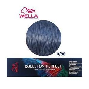 Permanens krém-hajfesték Mixton - Wella Professionals Koleston Perfect Special Mix, árnyalat 0/88 Kék kép