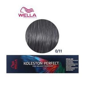 Permanens krém-hajfesték - Wella Professionals Koleston Perfect Special Mix, árnyalat 0/11 Intenzív Hamvas kép