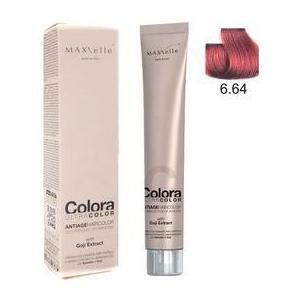 Maxxelle Colora Ultracolor Antiage Haircolor, árnyalat 6.64 Copper Red Dark Blonde kép