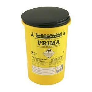 Prima ADR Plastic Container for Sharp Stinging Waste 3 L kép
