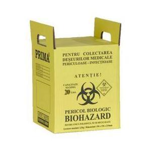 Prima Cremation Boxes for Medical Waster 20 L kép