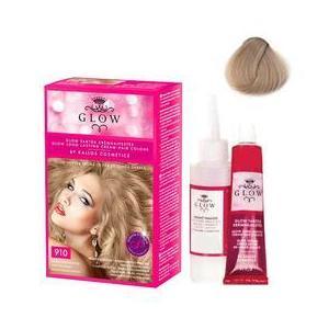 Permanens hajfesték - Kallos Glow Long Lasting Cream Hair Colour árnyalat 910 Világos hamvasszőke kép