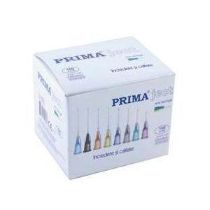 Intramuszkuláris fecskendő tűk Prima, egyszeri használatosak, 21G, 1 1/2' (0.80 x 38mm), zöld, 100 db. kép