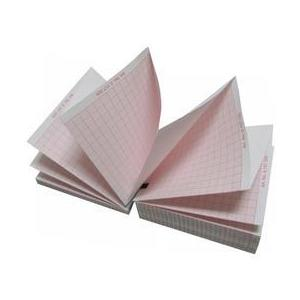 EKG papír - Prima, Schiller AT-1, Spirovit SP-1 kompatibilis, piros rács, 1 top, 90 x 90mm, 400 db. kép