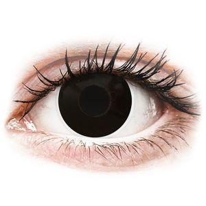 Maxvue Vision ColourVUE Crazy Lens BlackOut - dioptriával (2 db lencse) kép