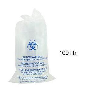 Átlátszó autoklávozható zsák - Prima Autoclave Sterilization Clear Bag 100 liter kép