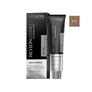 Tartós Hajfesték - Revlon Professional Revlonissimo Colorsmetique High Coverage Permanent Hair Color, árnyalat 8.42 Light Honey Blonde, 60 ml kép