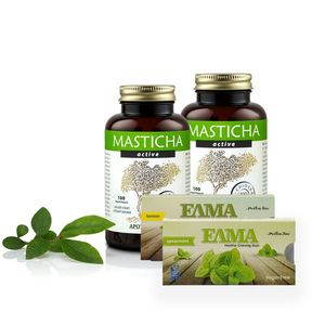 Masticha 2x Masticha Active + Ingyenes masticha tartalmú rágógumi kép