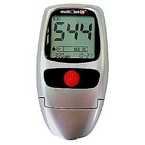Multicare IN vércukorszintmérő, koleszterin és trigliceridmérő kép