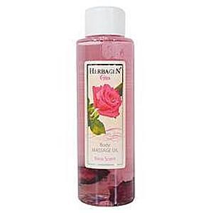 Masszázsolaj Rózsával Herbagen, 100ml kép
